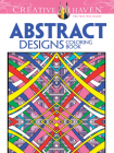 Abstract Designs Coloring Book (Creative Haven Coloring Books) Cover Image