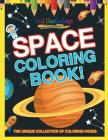 Space Coloring Book! the Unique Collection of Coloring Pages Cover Image