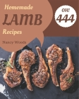 Oh! 444 Homemade Lamb Recipes: Keep Calm and Try Homemade Lamb Cookbook Cover Image
