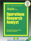 Operations Research Analyst: Passbooks Study Guide (Career Examination Series) Cover Image