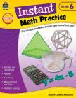 Instant Math Practice Grade 6 Cover Image