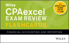 Wiley's CPA Jan 2022 Flashcards: Financial Accounting and Reporting Cover Image