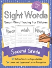 Dolch Second Grade Sight Words: Smart Word Tracing For Children. Distraction-Free Reproducibles for Teachers, Parents and Homeschooling Cover Image