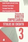 Elementos de Direito Empresarial: Títulos de Crédito Cover Image