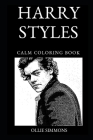 Harry Styles Calm Coloring Book Cover Image