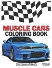 Muscle Cars: Coloring books, Classic Cars, Trucks, Planes Motorcycle and Bike (Dover History Coloring Book) (Volume 6) Cover Image