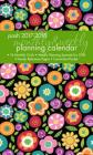 Posh: Bold Blossoms 2017-2018 Monthly/Weekly Planning Calendar Cover Image