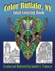 Color Buffalo, NY: Adult Coloring Book Cover Image
