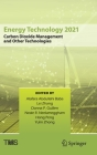 Energy Technology 2021: Carbon Dioxide Management and Other Technologies (Minerals) Cover Image