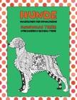 Malbücher für Erwachsene - Stressabbau Designs Tiere - Mandalas Tiere - Hunde Cover Image