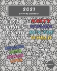 2021 Feminist Coloring Calendar: A Monthly Anti-Stress Coloring Desk Calendar For Adults & Teenagers Cover Image