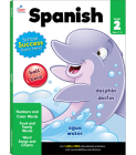 Spanish Workbook, Grade 2 Cover Image