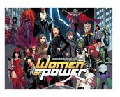 Heroes of Power: The Women of Marvel: Standee Punch-Out Book Cover Image