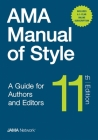 AMA Manual of Style: A Guide for Authors and Editors Cover Image