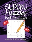 Hard Sudoku Book For Adults: A Collection Of Over 100 Sudoku Puzzles with solutions, 9x9, Large 8.5 x 11 inches, Fun Sudoku Puzzles, Volume 5 Cover Image