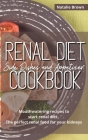 Renal Diet Side Dishes and Appetizer Cookbook: Mouthwatering Recipes to Start Renal Diet. The Perfect Renal Food for Your Kidneys Cover Image