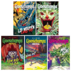 Goosebumps: Night of the Living Dummy, One Day at Horrorland, the Haunted Mask, the Tomb, Monster Blood. ( Set 5 Vols) Cover Image