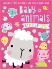 Sticker Activity Book Baby Animals Cover Image