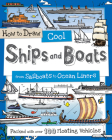 How to Draw Cool Ships and Boats: From Sailboats to Ocean Liners Cover Image