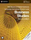 Cambridge International AS and A Level Business Studies [With CDROM] (Cambridge International Examinations) Cover Image