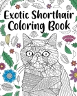 Exotic Shorthair Coloring Book Cover Image