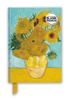 Vincent van Gogh: Sunflowers (Foiled Blank Journal) (Flame Tree Blank Notebooks) Cover Image