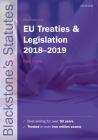 Blackstone's Eu Treaties & Legislation 2018-2019 Cover Image