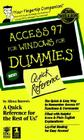 Access 97 for Windows for Dummies: Quick Reference Cover Image