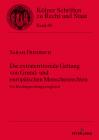 Die Extraterritoriale Geltung Von Grund- Und Europäischen Menschenrechten: Ein Rechtsprechungsvergleich Cover Image
