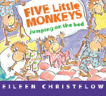 Five Little Monkeys Jumping on the Bed (board book) (A Five Little Monkeys Story) Cover Image