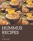 185 Hummus Recipes: A Timeless Hummus Cookbook Cover Image