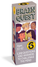 Brain Quest 6th Grade Q&A Cards: 1,500 Questions and Answers to Challenge the Mind. Curriculum-based! Teacher-approved! (Brain Quest Decks) Cover Image