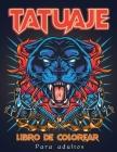 Tatuaje Libro de Colorear Cover Image