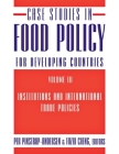 Case Studies in Food Policy for Developing Countries: Institutions and International Trade Policies Cover Image