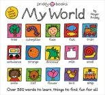 My World: A hand-drawn book with 350 words to learn, things to count, lots to find Cover Image