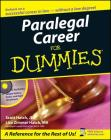 Paralegal Career for Dummies [With CD-ROM] Cover Image