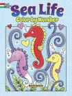 Sea Life Color by Number Cover Image