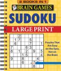 Brain Games - 2 Books in 1 - Sudoku Cover Image