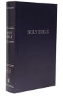 KJV, Pew Bible, Large Print, Hardcover, Blue, Red Letter Edition Cover Image
