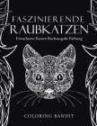 Faszinierende Raubkatzen: Erwachsene Katzen Buchausgabe Färbung Cover Image