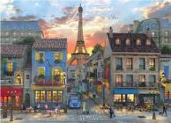 Puzzle Evening in Paris Cover Image
