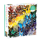 Rainbow Butterflies 500 Piece Puzzle Cover Image