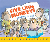 Five Little Monkeys Reading in Bed Cover Image