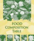 Food Composition Table Cover Image