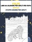 Libri da colorare per adulti per uomo - Stampa grande per adulti - Animale - Volpe Cover Image