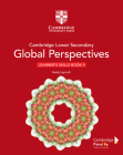 Cambridge Lower Secondary Global Perspectives Stage 9 Learner's Skills Book Cover Image