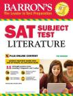 SAT Subject Test Literature with Online Tests Cover Image
