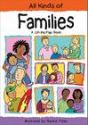 All Kinds of Families: A Lift-the-Flap Book Cover Image