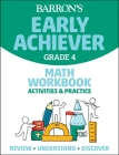 Barron's Early Achiever Grade 4 Math Workbook Cover Image