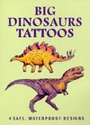 Big Dinosaurs Tattoos (Dover Tattoos) Cover Image